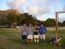 サッカー@カピオラニパーク