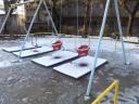 雪積もる白銀公園